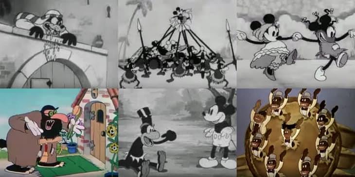 Social Evolution of Disney