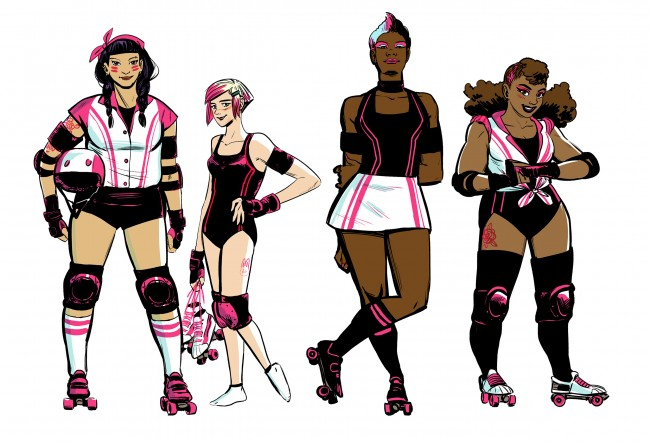 Roller Derby: Alternative, But Still White
