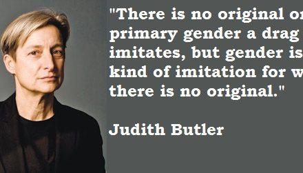 Literal Gender Performativity